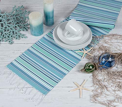 Kay Dee Designs Sea Splash Table Runner, 13' x 72', Various
