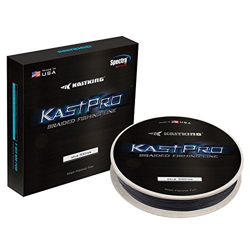 KastKing KastPro Braided Fishing Line - Spectra Super Line - Made in The USA - Zero Stretch Braid -...