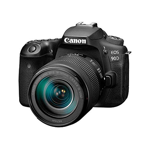 Canon DSLR Camera [EOS 90D] with 18-135 is USM Lens   Built-in...
