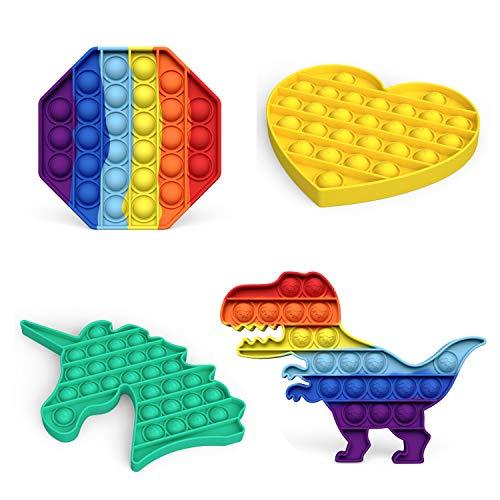 Fidget Sensory Toy, LEERUI Bubble Popper Squeeze Sensory...