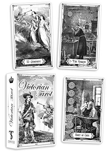 Victorian Tarot. Vintage Tarot Cards Deck. 80 cards +...