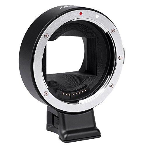 Viltrox オートフォーカス EF-NEX EF-E MOUNT レンズマウントアダプター Canon EF EF-S レンズ→ Sony NEX II E マウント 3/3N/5N/5R/7/A7 A7R フルフレームに対応【並行輸入品】