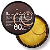 Collagen Under Eye Gel Patches 60PCS Eye Masks with Gold and Snail, Eye Treatment Masks for Puffy Eyes, Eye Pads for Dark Circles, Under Eye Bags, Puffiness, Anti Wrinkle, Moisturizing (60 ea)