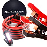 AUTOGEN Jumper Cables 1 Gauge 30 Ft 900A Booster Cables with Professional Grade Clamps
