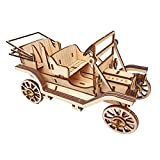NorthKe 3D Wooden Puzzle Kits for Adults, DIY Models to Build Craft Toys Gifts for Kids Ages 14+ Boys Girls - Classic Car