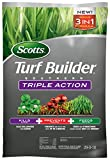 Scotts Turf Builder Southern Triple Action - Weed Killer, Lawn Fertilizer, Fire Ant Killer & Preventer - Kills Clover, Oxalis, Dollarweed & More, Covers up to 8,000 sq. ft, 27 lb.