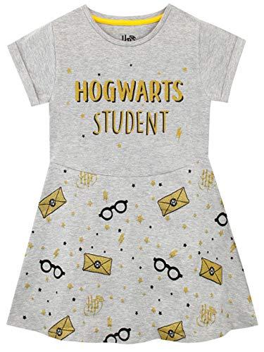HARRY POTTER Abito Ragazze Hogwarts Grigio 12-13 Anni