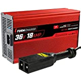 FORM 18 AMP EZGO TXT Battery Charger for 36 Volt Golf Carts -'D' style plug