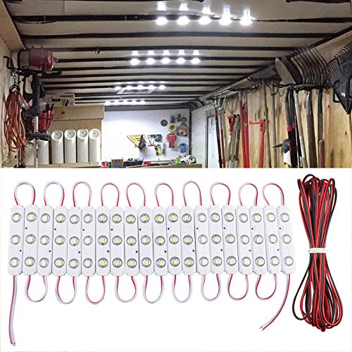 Linkstyle Kit luci Interne a soffitto per furgoni da 60 LED 12V Kit luci per furgoni per Camper Van...