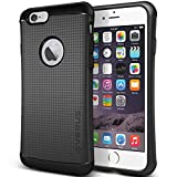 Verus [Thor Case Heavy Duty Hard Drop Protection Cover Slim Fit Tough Dual Layer Mesh Dot Design for Apple iPhone 6 Plus / 6s Plus [Charcoal Black]
