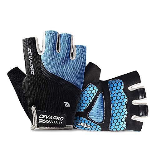 Yobenki, guanti da bici, traspiranti, per attivit allaperto, ciclismo, equitazione, corsa, per...