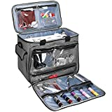 ProCase Sewing Machine Bag Case, Portable Storage Tote Bag Carry Case for Brother, Singer and...