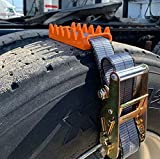 Big Gripper Mud, Ice, & Snow Tire Chains Easy Installation - Fits Semi's 2 pc Set