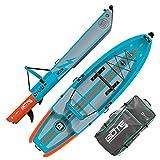 BOTE Deus Aero Inflatable Kayak & Stand Up Paddle Board   Kayak for Fishing & Recreation