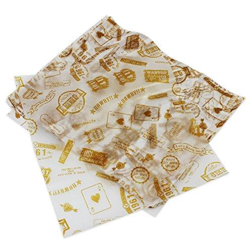 Psmgoods 100pz carta cerata per torte, pane, incarti antiaderenti, Post Type