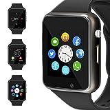 WJPILIS Smart Watch Touchscreen Bluetooth Smartwatch Wrist Watch Sports Fitness Tracker with SIM SD...