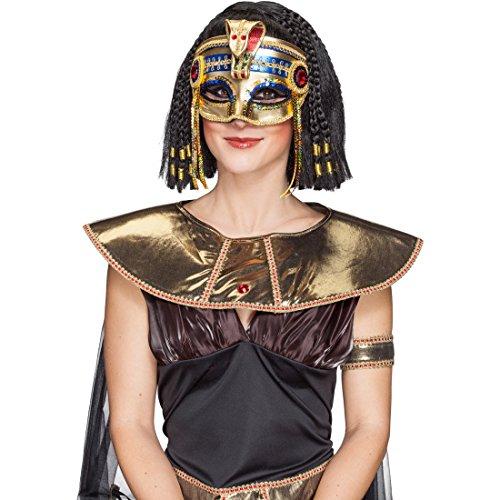 Máscara de serpiente mujer