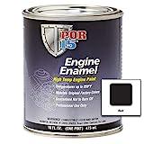 POR-15 42038 Black Engine Enamel - 1 pint