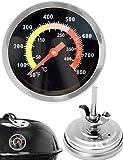 Hometools.eu Thermomètre de cuisson analogique, résistant à la...