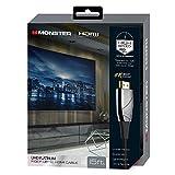 Monster, Inc. HDMI700HD4M Ultra HD High Speed HDMI Cable, Platinum, 15 feet