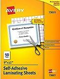 Avery Self-Adhesive Laminating Sheets, 9 x 12 Inch, Permanent...