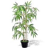 vidaXL Bambou Artificiel Twiggy avec Pot 90 cm Arbre Artificiel décoration