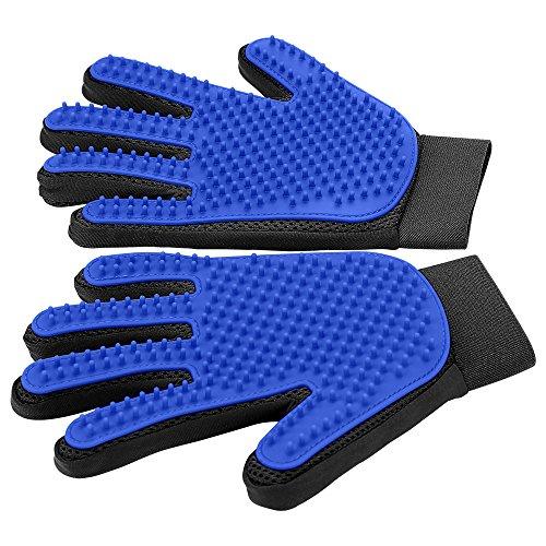 [Upgrade Version] Pet Grooming Glove - Gentle...
