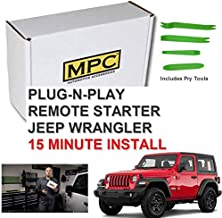 MPC Remote Start for Jeep Wrangler 2007-2018 Key-to-Start – Plug N Play – Use..