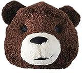 Brown Teddy Bear Animal Mask Mascot Head Bear Costume Halloween Christmas Dress
