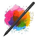 Coolreall Penne Touch per iPad 2018-2021, compatibili con iPad 8th&6th&7th/iPad Air 4&3rd/Mini 5th/iPad PRO 11&12.9, con Rigetto del Palmo della Mano, Ricaricabile Attivo, sostituibile Pen nid
