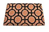 Tapis Entree Interieur et Exterieur, paillasson antiderapant et Absorbant, paillassons pour entrée en Fibre de Coco, Tapis Original de Porte, 40x60 cm