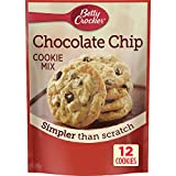 Betty Crocker Baking Mix, Chocolate Chip Cookie Mix, Snack Size, 7.5 Oz Pouch (Pack of 9)