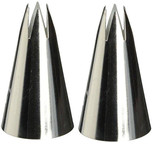 Wilton 402-2110 1M Open Star Piping Tip (2pk)