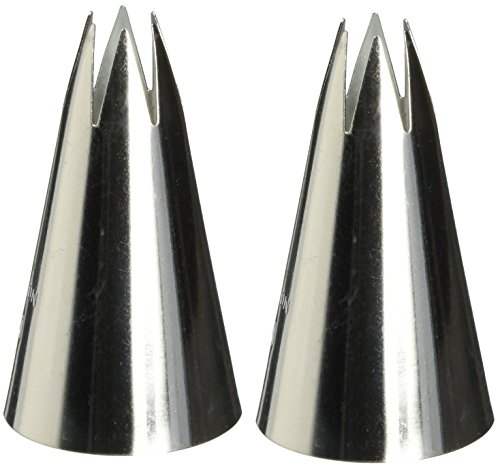 Wilton 402-2110 1M Open Star Piping Tip(2pk)