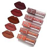 5 Couleurs Maquillage Waterproof à Lèvres Mat Liquide Beauté Brillant...