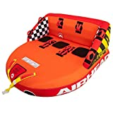 SportsStuff Super Mable | 1-3 Rider Towable Tube for Boating, Orange,...