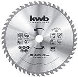 kwb 593059 Baukreissägeblatt 300 x 30, Sägeblatt für Tisch-Kreissägen, Wechselzahn f. mittlere Schnitte, Z-48 Zähne, 300 x 30 mm