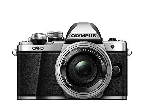 "Olympus E-M10 Mark-II - Cámara Evil de 16.1 MP (Pantalla 3"", estabilizador óptico, vídeo Full HD, WiFi, Kit cámara con Objetivo 14-42mm EZ Zoom), Plata"