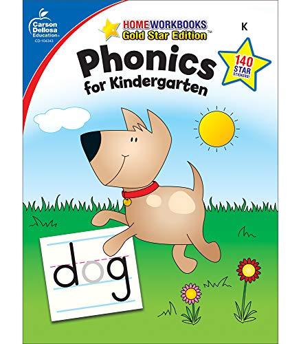 Carson Dellosa Phonics for Kindergarten Workbook—Writing...