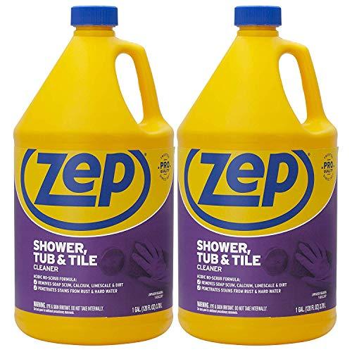Zep Shower Tub and Tile Cleaner 1 Gallon ZUSTT128 (Case of 2) - No...