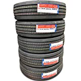 Set of 5 (FIVE) Transeagle ST Radial All Steel Heavy Duty Premium Trailer Radial Tires-ST235/80R16 235/80/16 235/80-16 130/126L Load Range H LRH 16-Ply BSW Black Side Wall