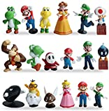 ZSWQ Figurine Super Mario Gateau Super Mario Figurine Deco Gateau Super Mario...