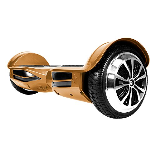 SWAGTRON T3 Premium Hoverboard – Built-In Bluetooth Speaker & Lights, Personalize Experience via Android/IOS App