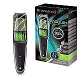 Remington Tondeuse Electrique Barbe, Sabot Ajustable, Lames Ultra Résistantes Titanium, Coupe Précise, Tête Précision - MB6850 Vacuum