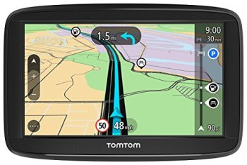 TomTom Car Sat Nav Start 52, 5 Inch with WE Maps, Speed Cam Alert Trial, Integrated Reversible Mount