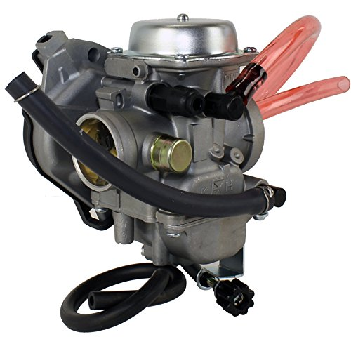 Caltric Carburetor Compatible With Kawasaki Lakota 300 Sport Kef300B Kef 300B 2001-2003