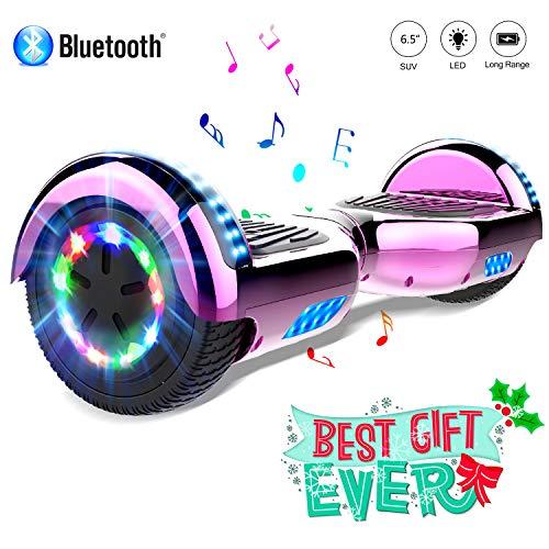 COLORWAY scooter 6.5 Smart Scooter Auto Bilanciamento Bluetooth elettrico e LED Multicolor...