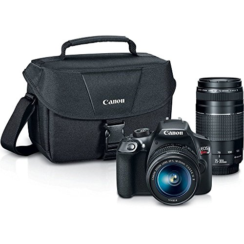 Canon Digital SLR Camera Kit [EOS Rebel T6] with EF-S...