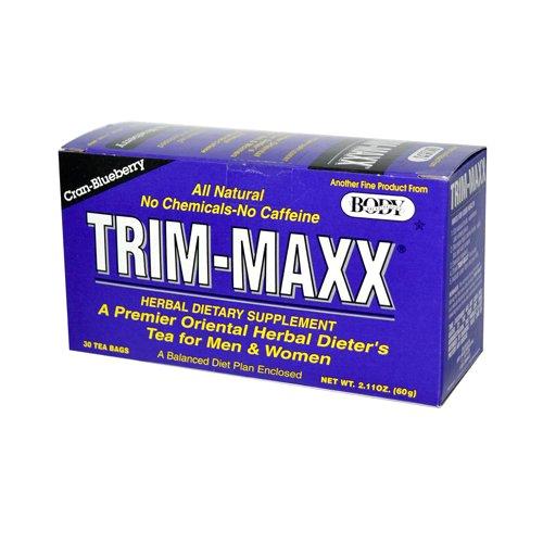 Body Breakthrough Trim-Maxx Herbal Dieters Tea Cran-Blueberry, 30 Count