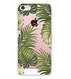 Vanki Compatible pour Coque iPhone 5/5S/SE, TPU Souple Etui de Protection...